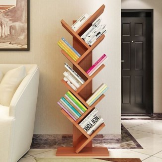 Wooden rack ideas to be applied into any home styles for a warmer room impression 28