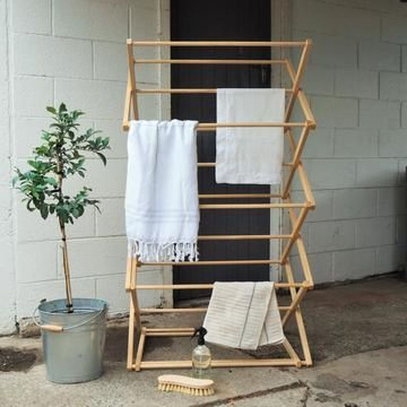 Wooden rack ideas to be applied into any home styles for a warmer room impression 33