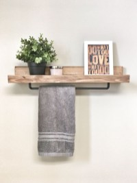 Wooden rack ideas to be applied into any home styles for a warmer room impression 36