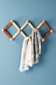 Wooden rack ideas to be applied into any home styles for a warmer room impression 37