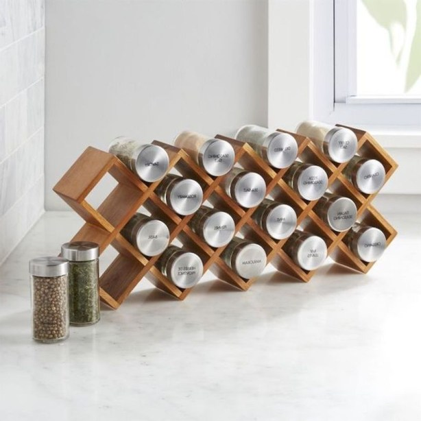 Wooden rack ideas to be applied into any home styles for a warmer room impression 38