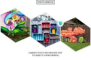 20 Garden Fence Decoration not to Make it Looks Boring