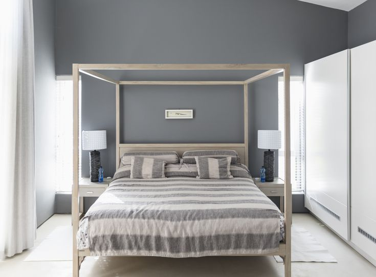 A lovely home paint colors with gray it place as a neutral that not only adds serene sophistication to the bedroom but is also versatile enough to play well with every other color of the rainbow