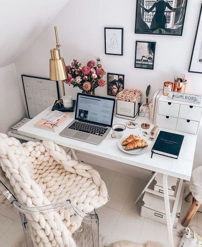 Elegant small space home office