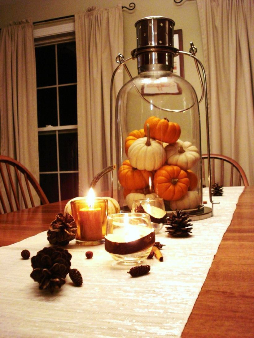 Amazing pumpkin decoration
