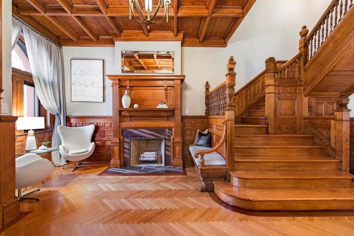 Amazing wooden fireplace decoration ideas
