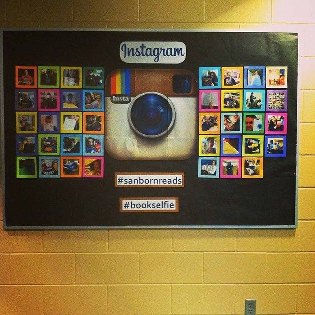 An amazing design with instagram to perfect your board display