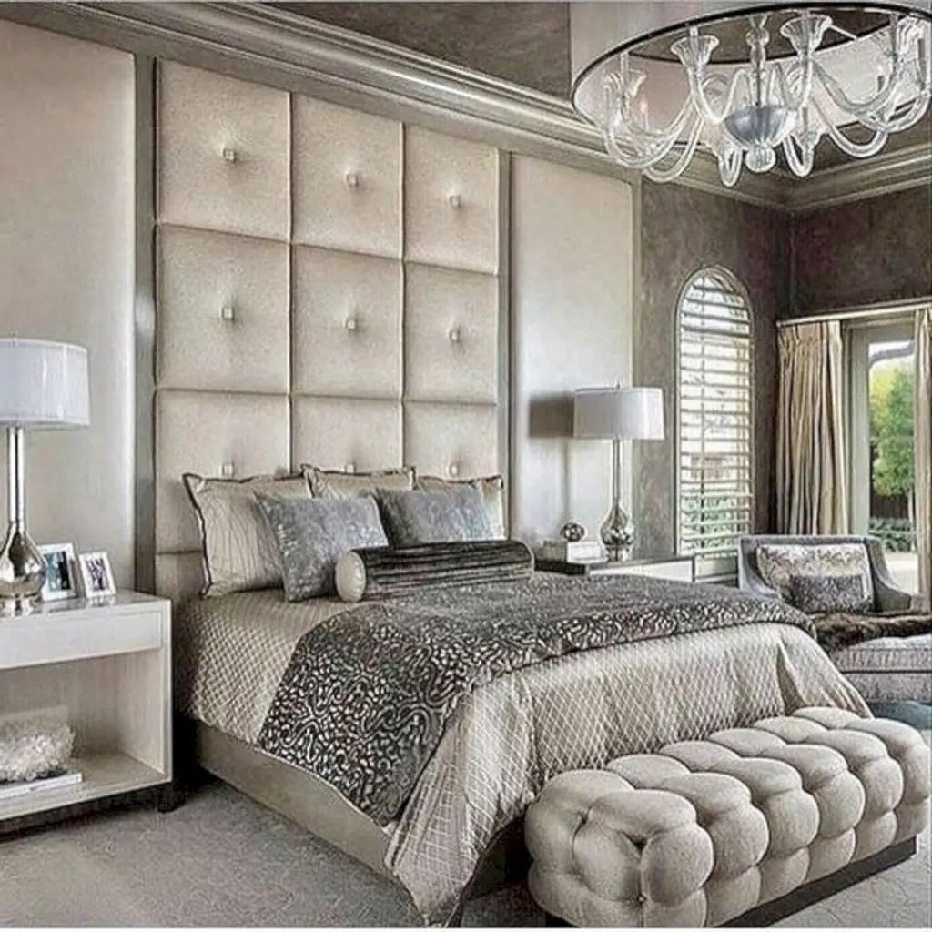 Big headboard to beautify your bedroom