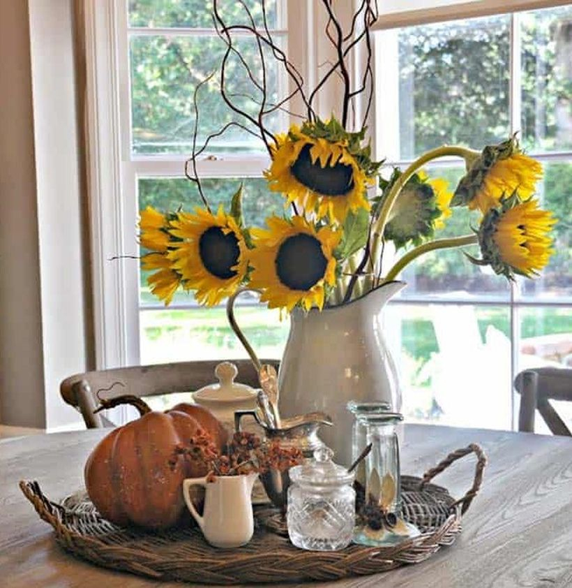 Decorate your kitchen table