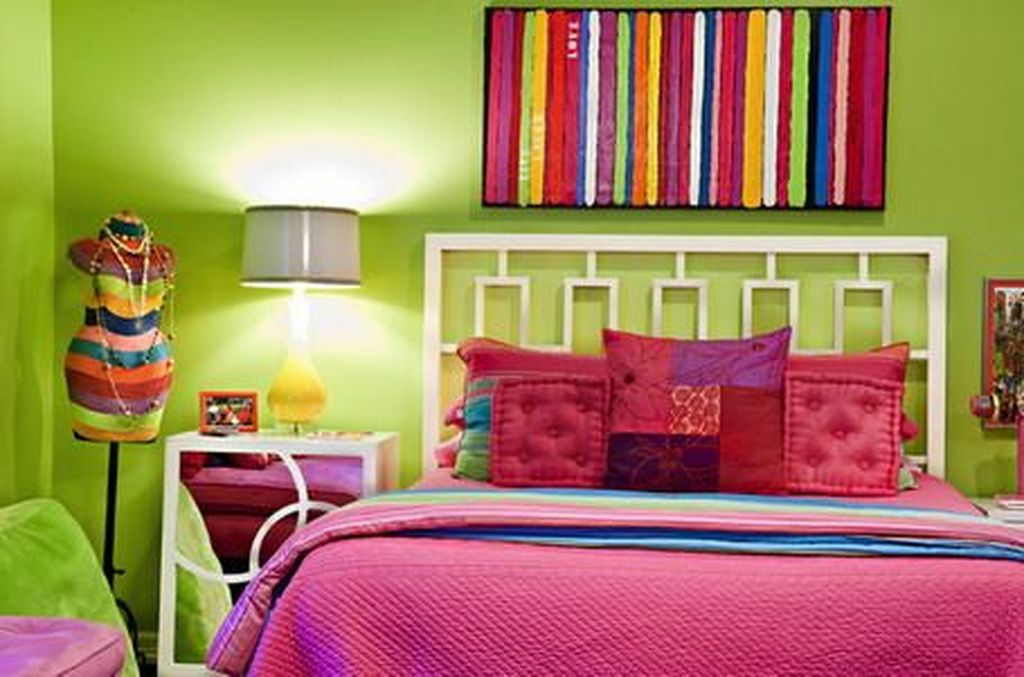 Iron headboard for bedroom