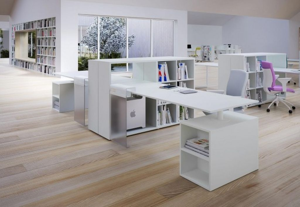 Modern furniture for office home design with contemporary office desks to organize an elegant your office home