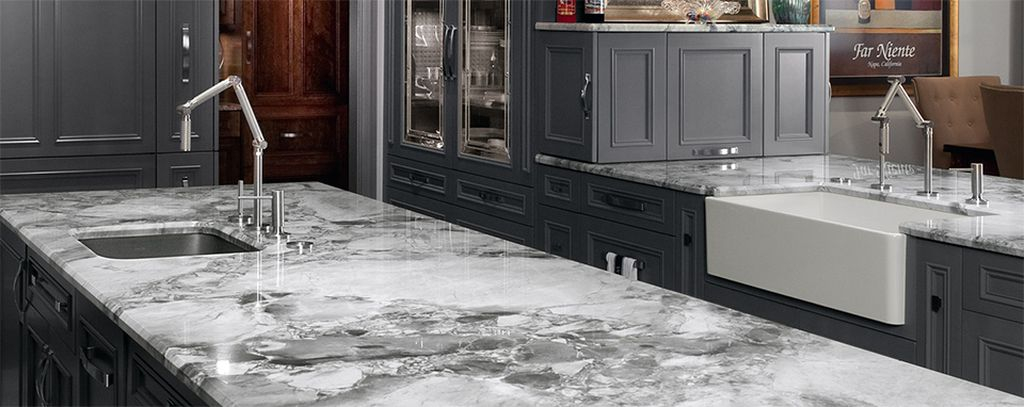Modern kitchen design with countertop granite to perfect your an elegant kitchen