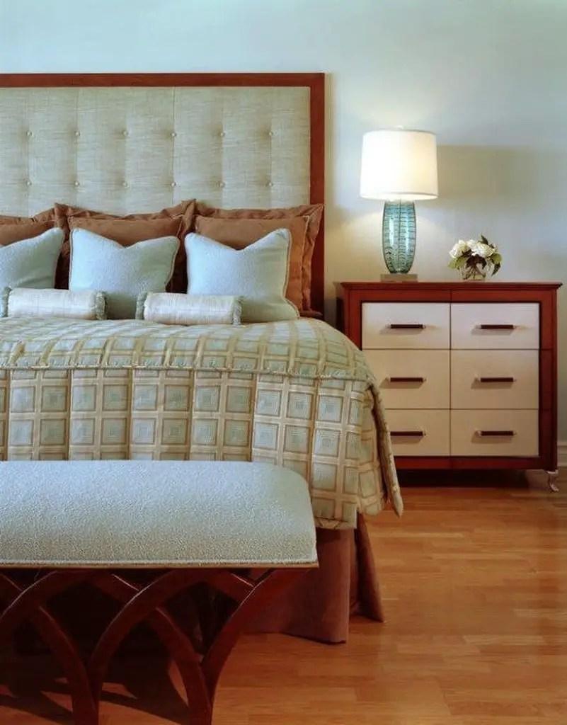 White headboard for bedroom