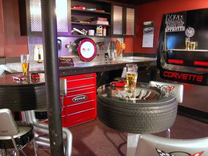 Work bench home bar