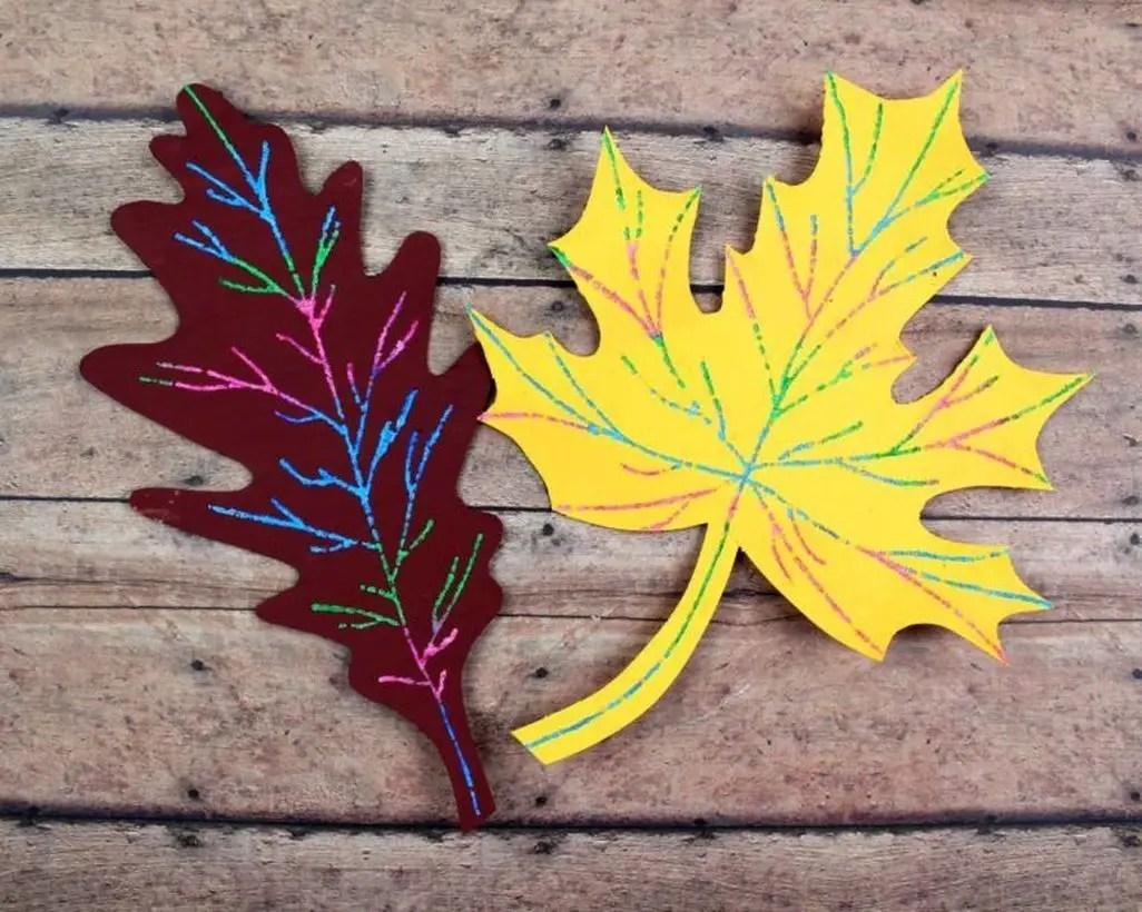 Amazing autumn leaves craft