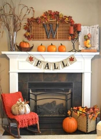 Decoration pumpkin for fire pit