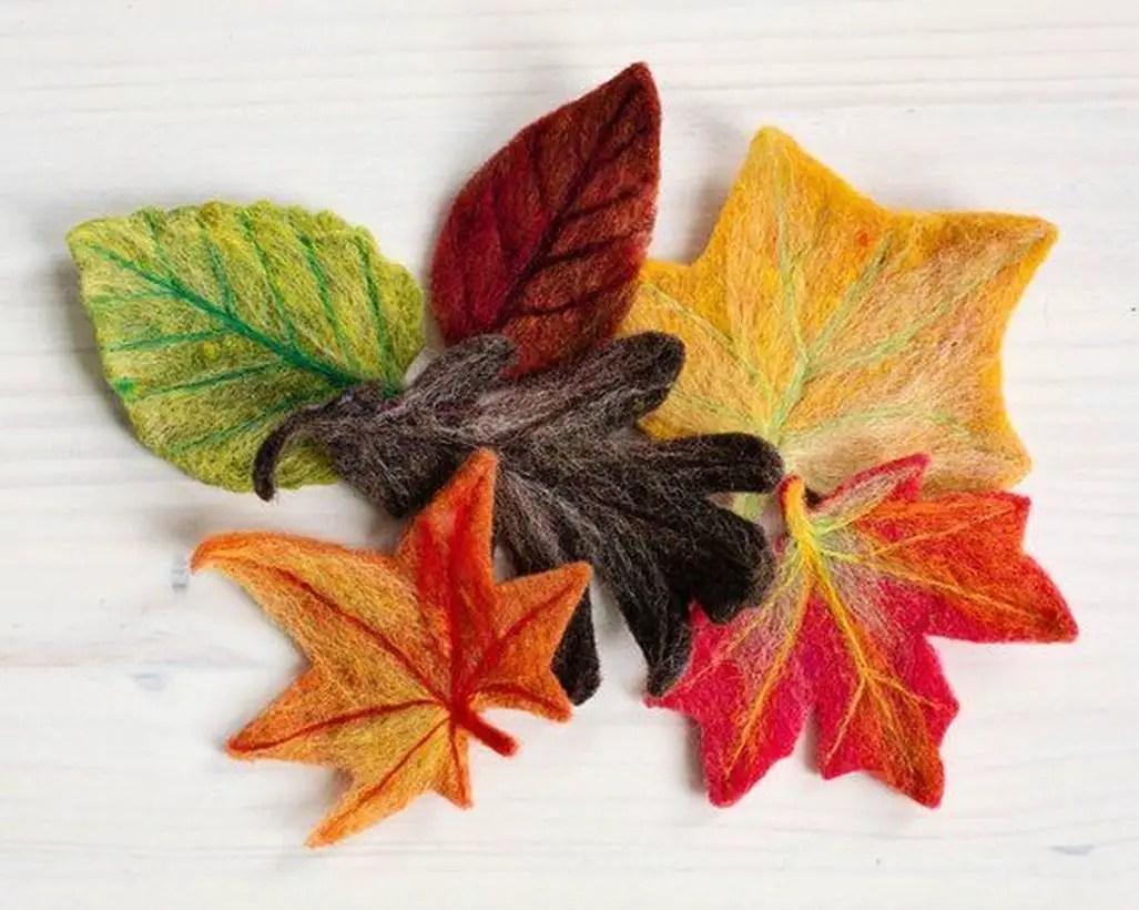 Wonderful autumn leaves craft