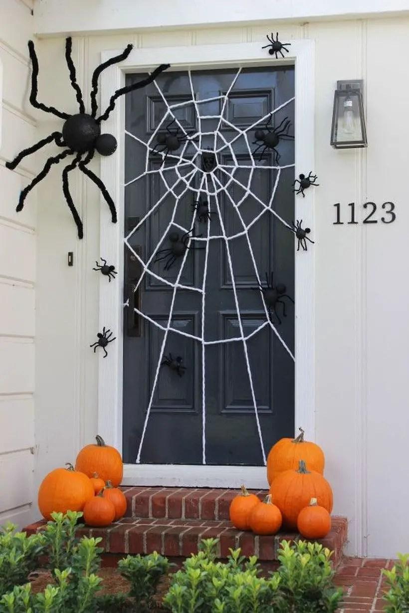 Adorable creepy crawly door.