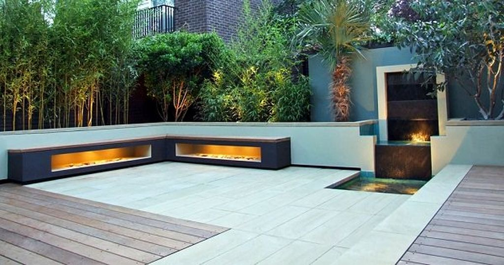 Modern rooftop design with tall shrubs and small trees around it to complete your rooftop design