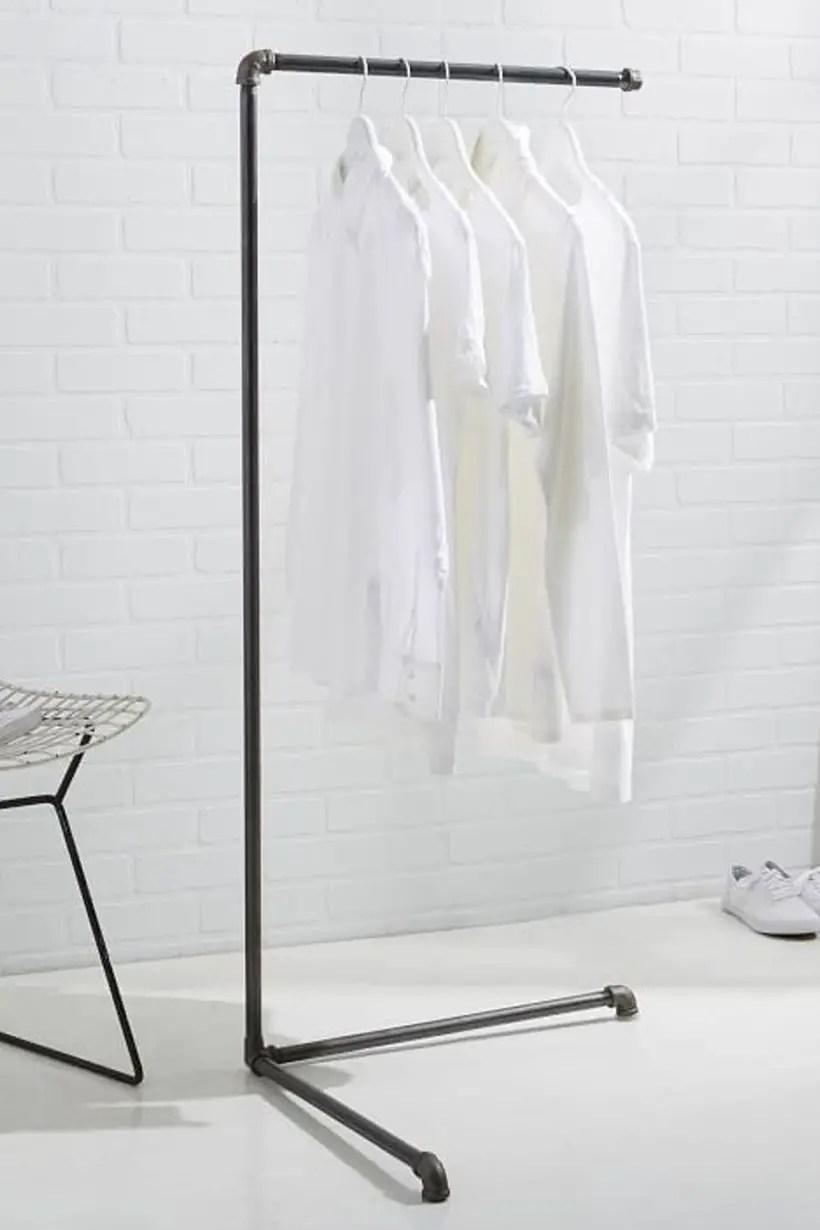 Monroe trades clothing rack.