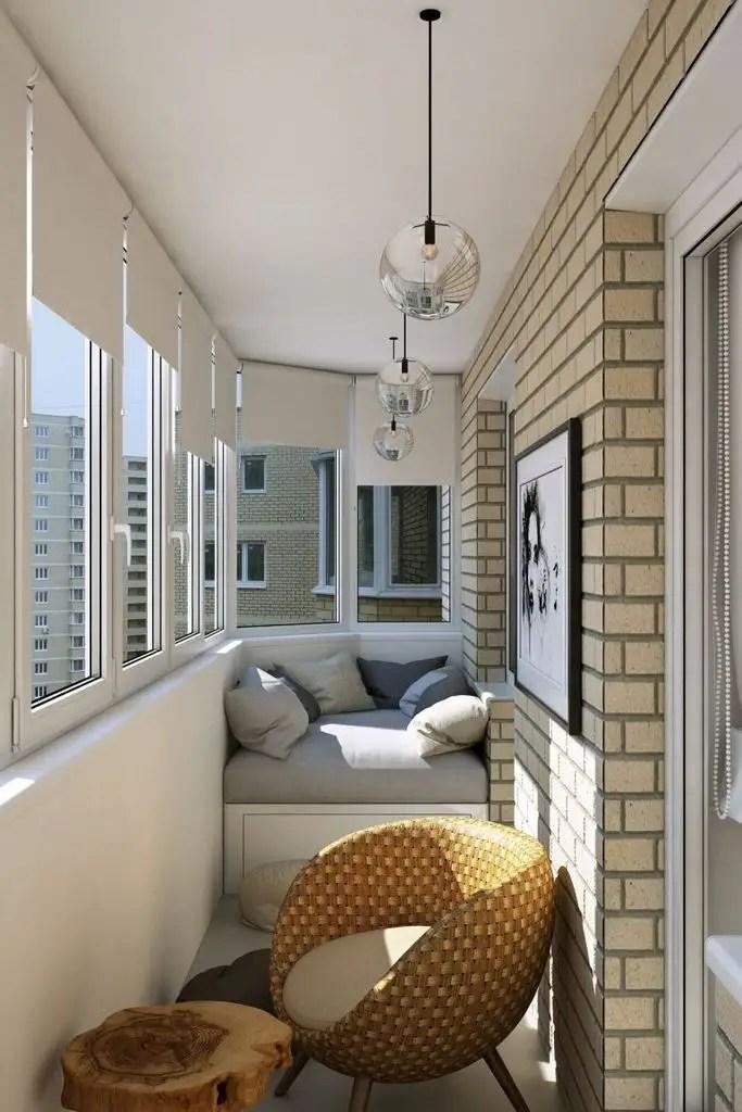 Rattan cahir for small balcony