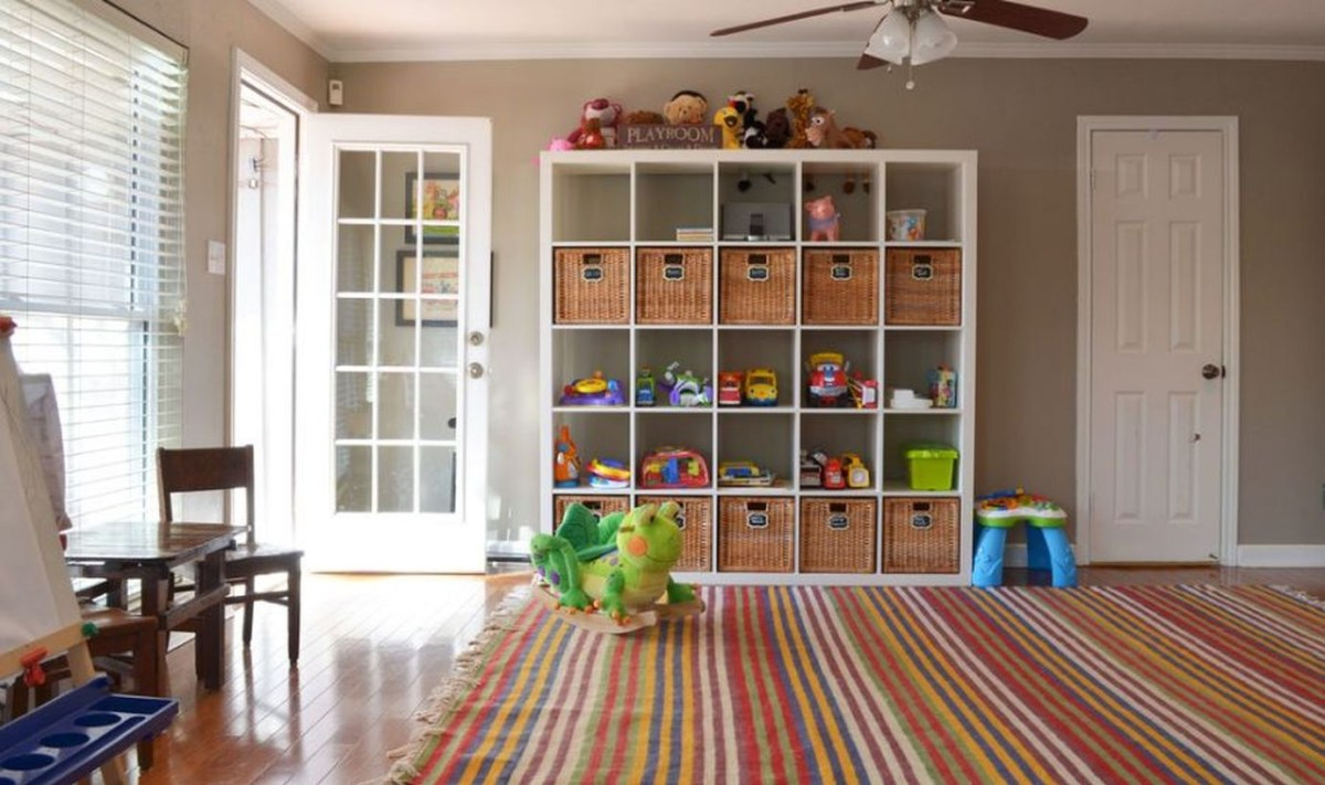 Stunning storage ideas with square shape and multilevel design to look neat