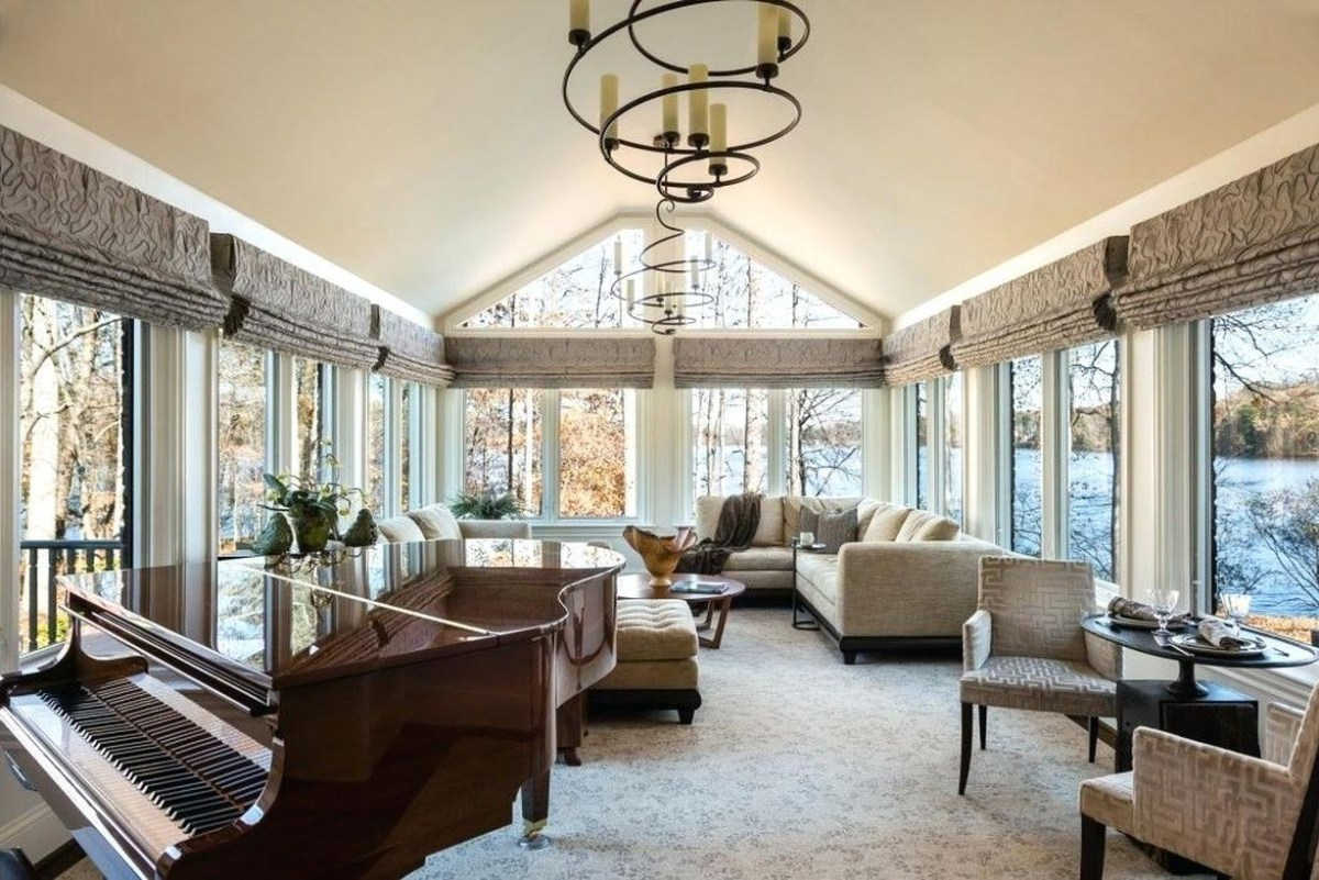 The lake house is a family dream house that many people enjoy and now look for items to fill your room to explain how the house can be inhabited or shifted with the changing seasons, you will love it because of its warm and warm natural charm that gives intimacy to the interior lake house.