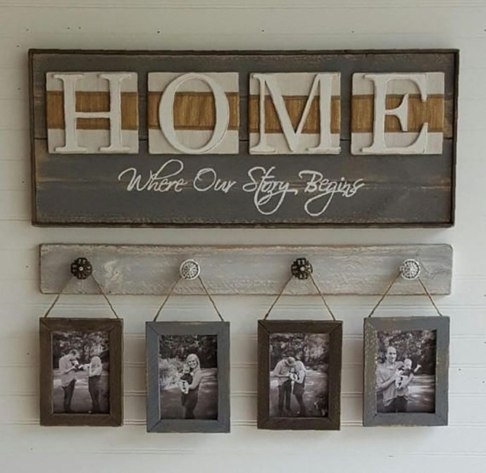 Wall sign decoration
