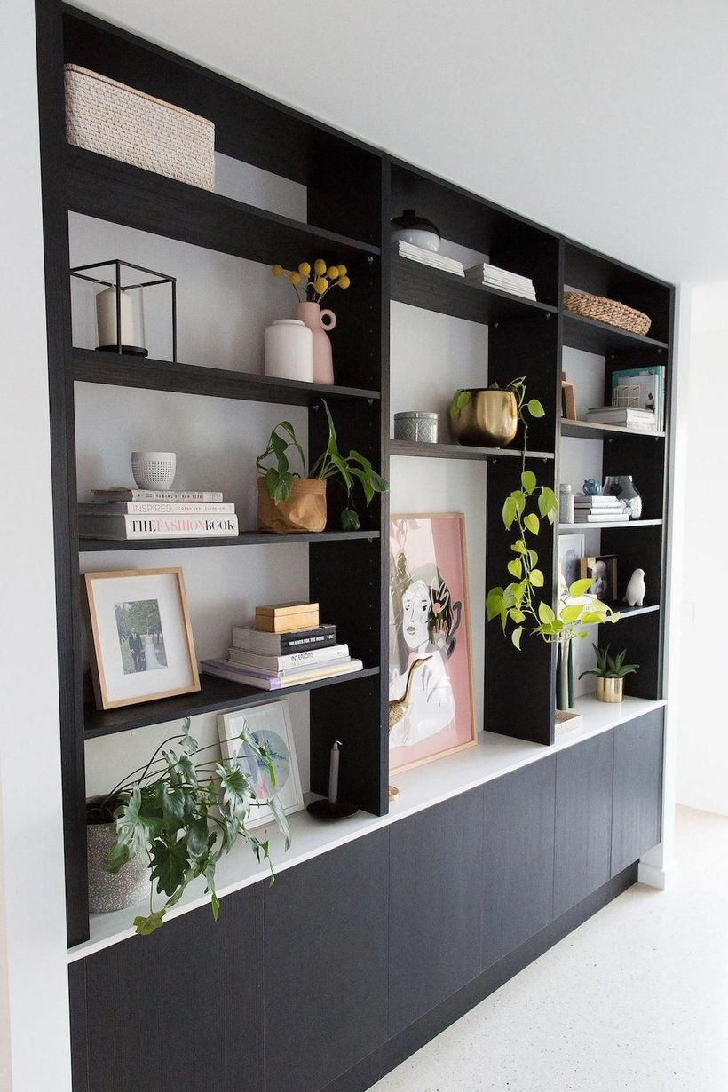Best black bookshelves ideas