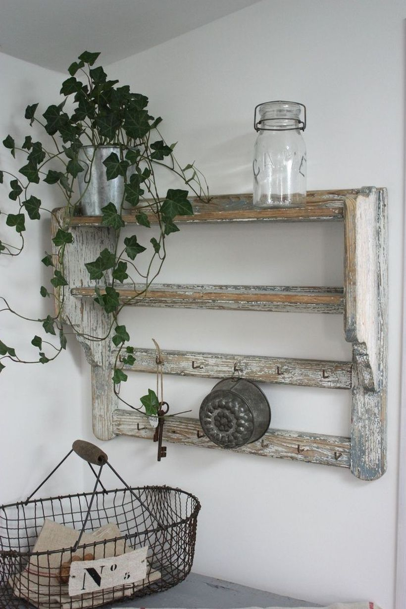 Rustic iron basket