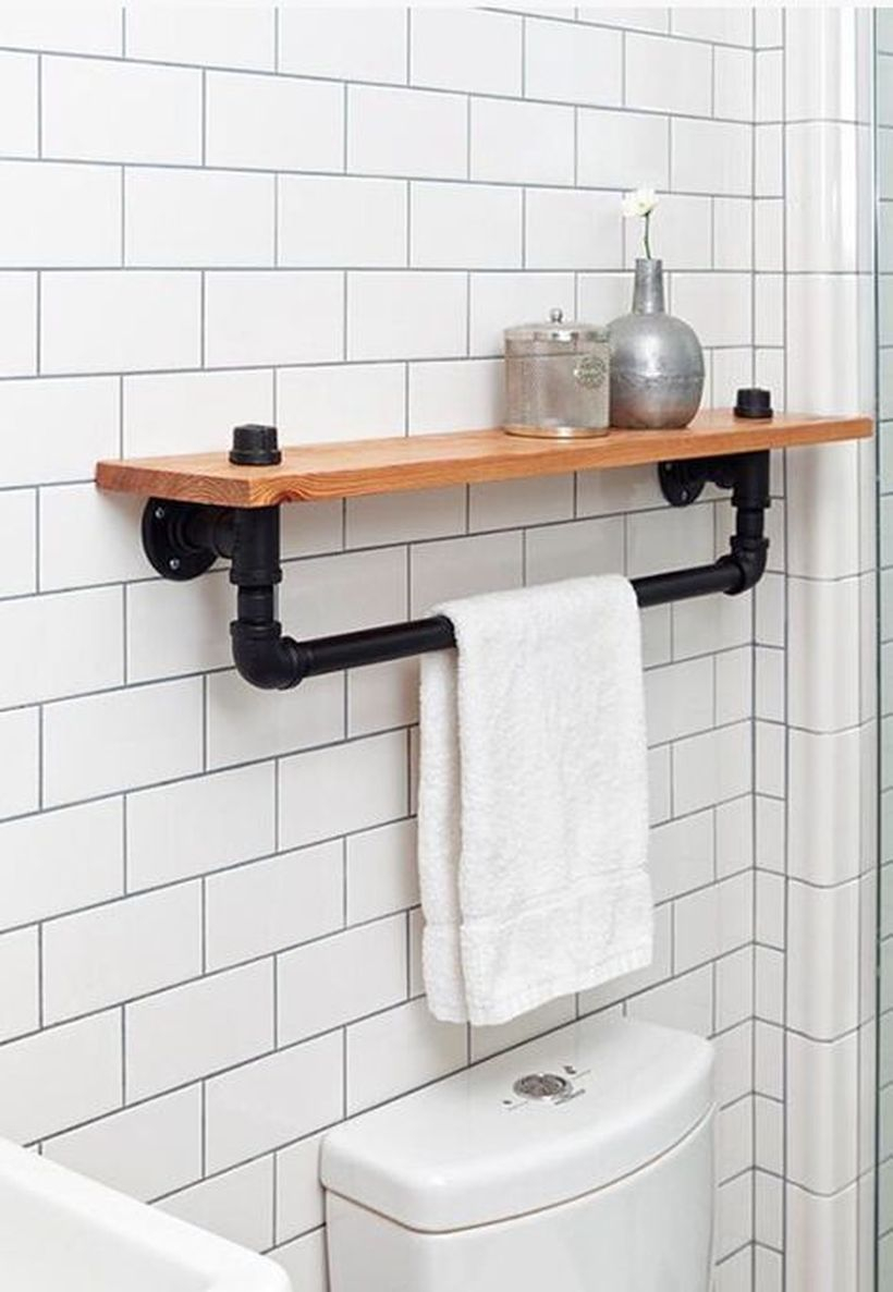 Simple hanging rack