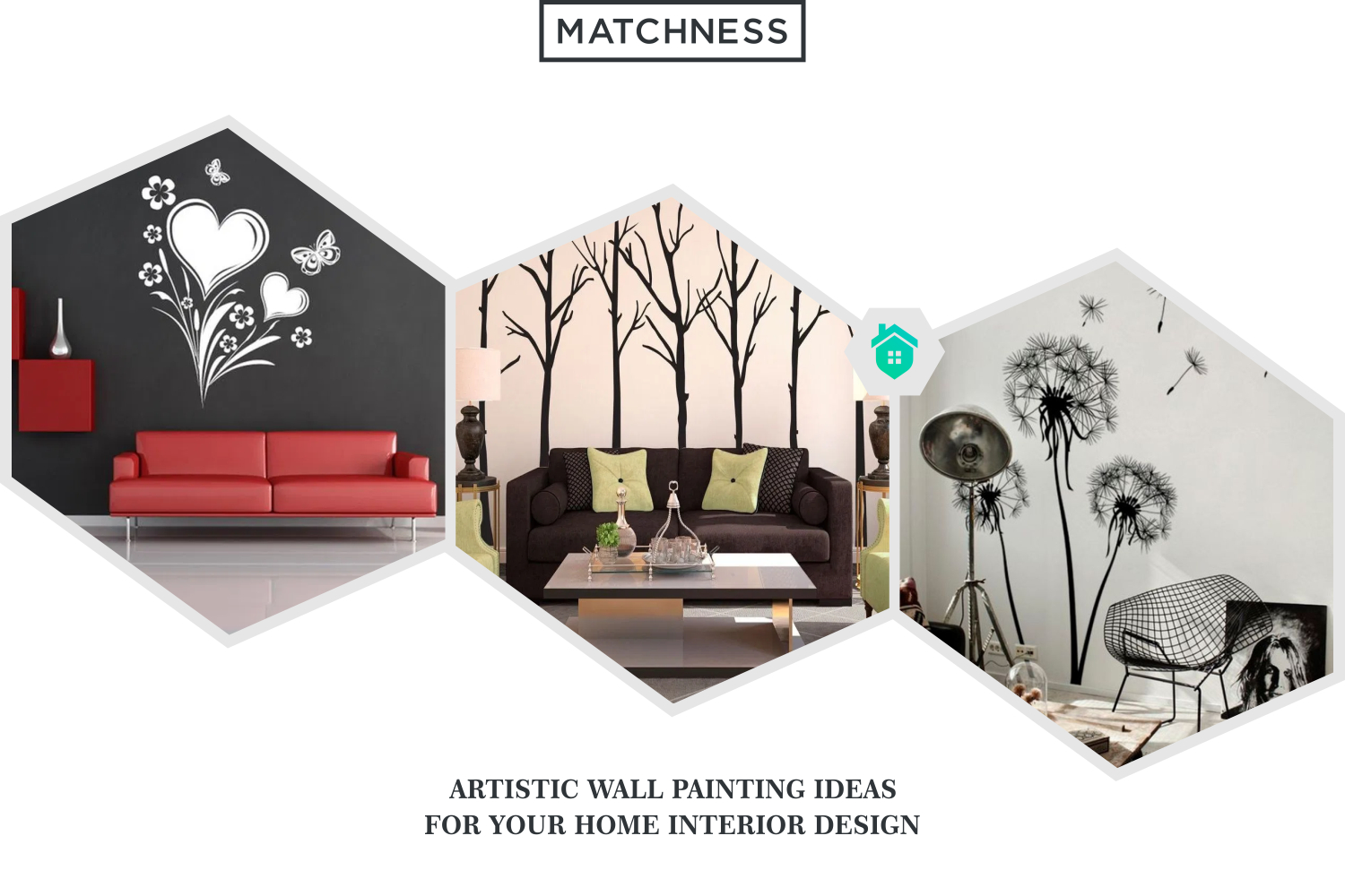 20 Artistic Wall Painting Ideas for Your Home Interior Design ~  Matchness.com