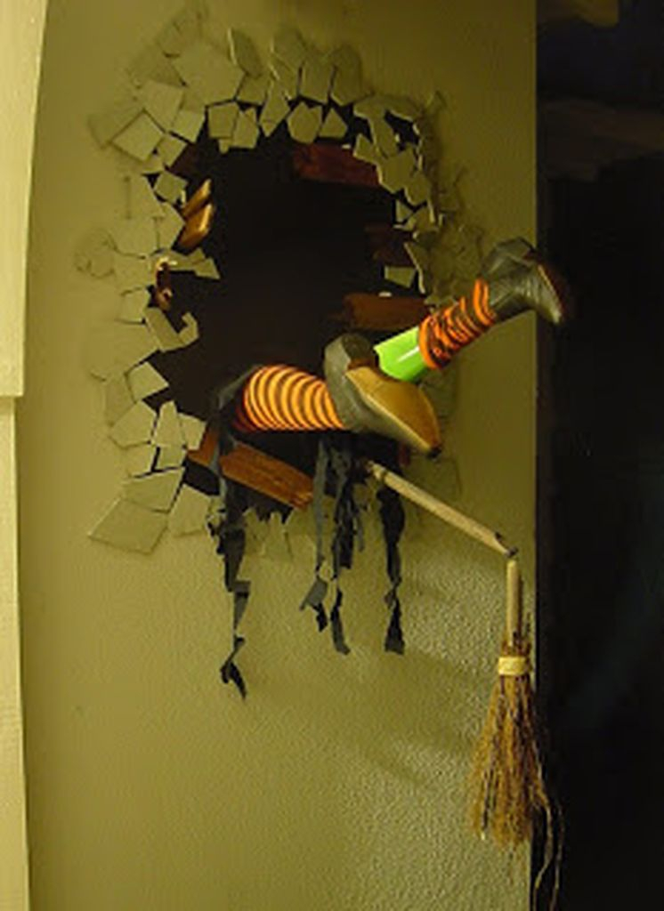 Perfect home decoration with 3d wall decoration to perfect your halloween indoor decoration