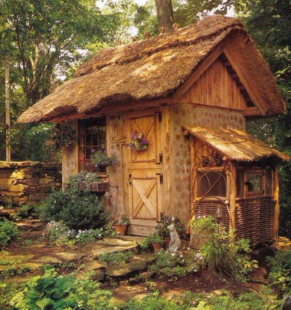 Rustic shed design