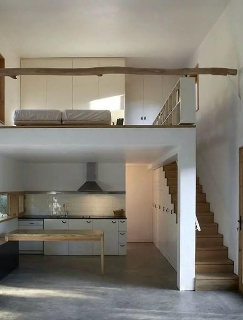 Apartment with samll loft bedroom