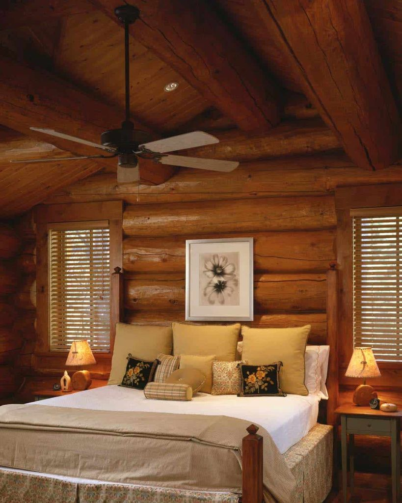 Log-cabin-style-bedrooms