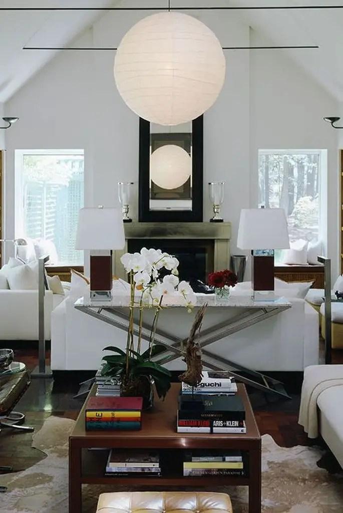 Modern neutrals living room design