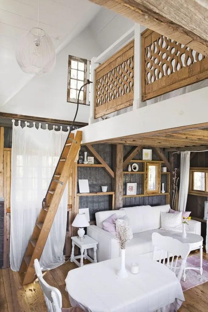 Vintage living room design
