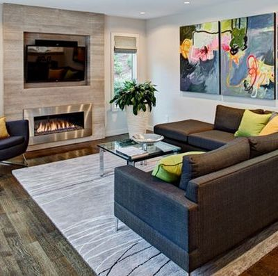 Metal-fireplace-living-room
