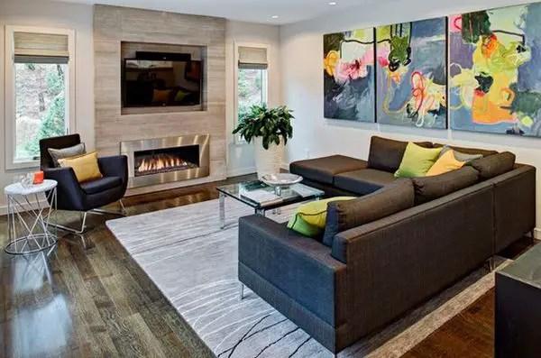 Metal-fireplace-living-room