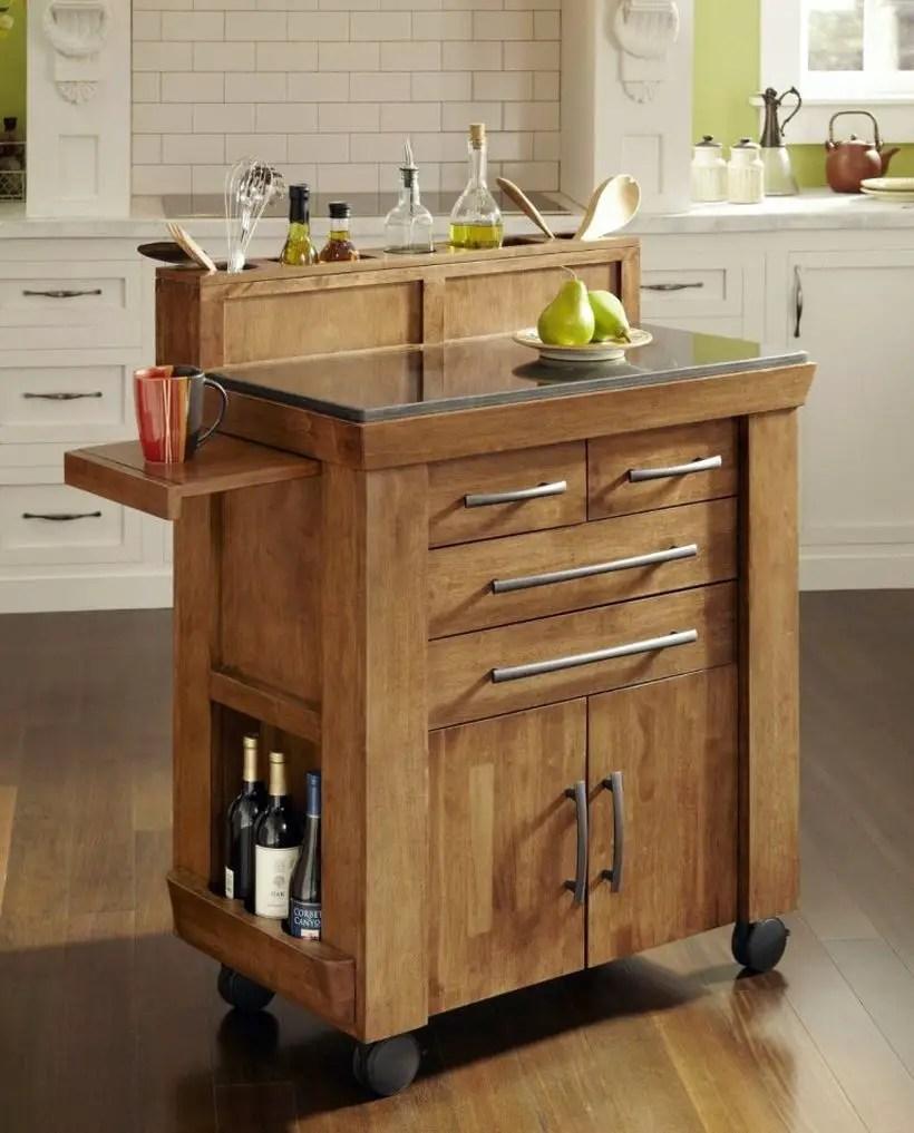 6reclaimed-wood-kitchen-island-on-wheels