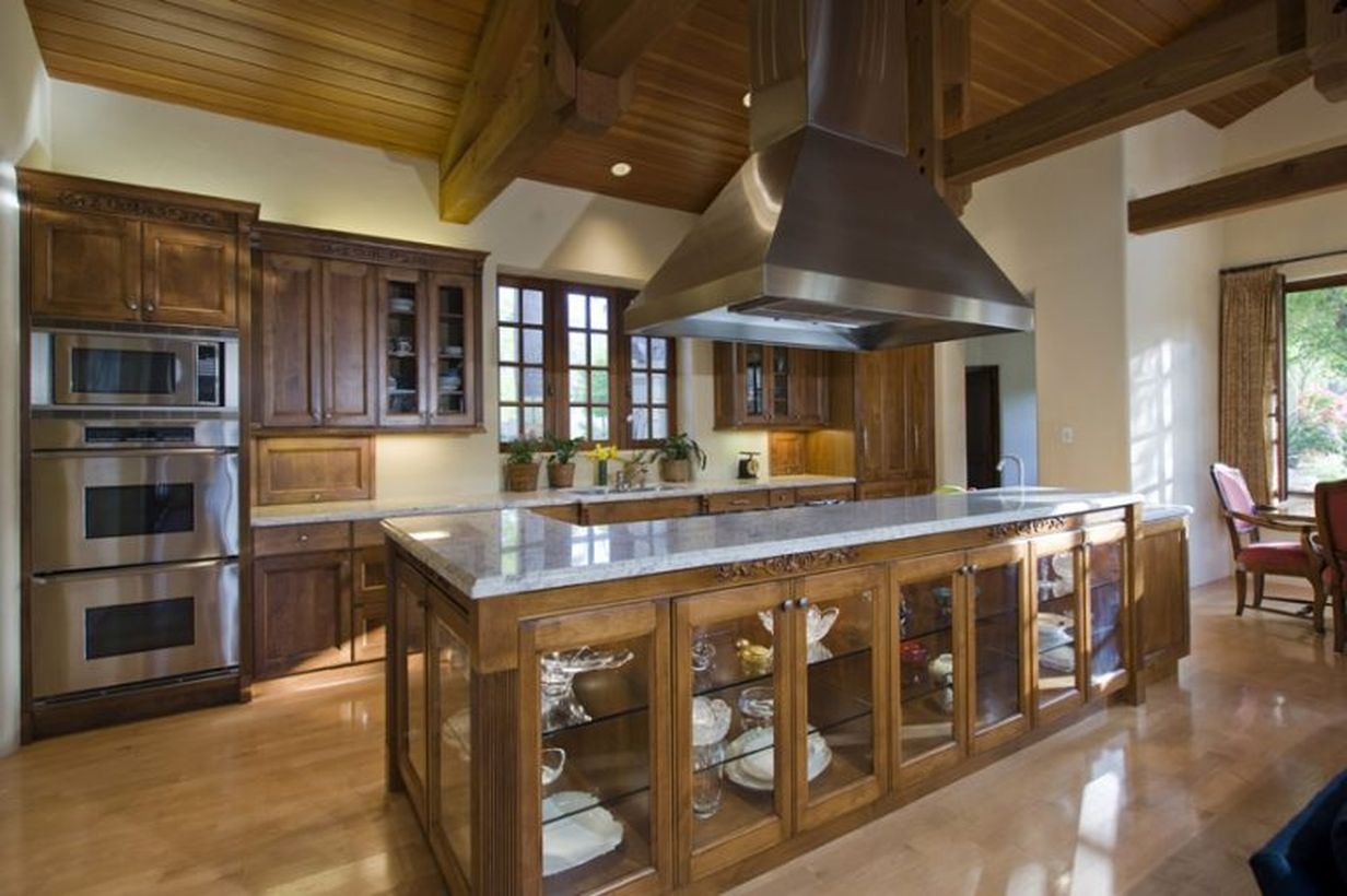 6recovered-barnwood-island-for-a-rustic-kitchen-style