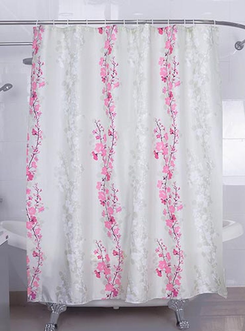 Magic-vida-decorative-flowers-shower-curtain