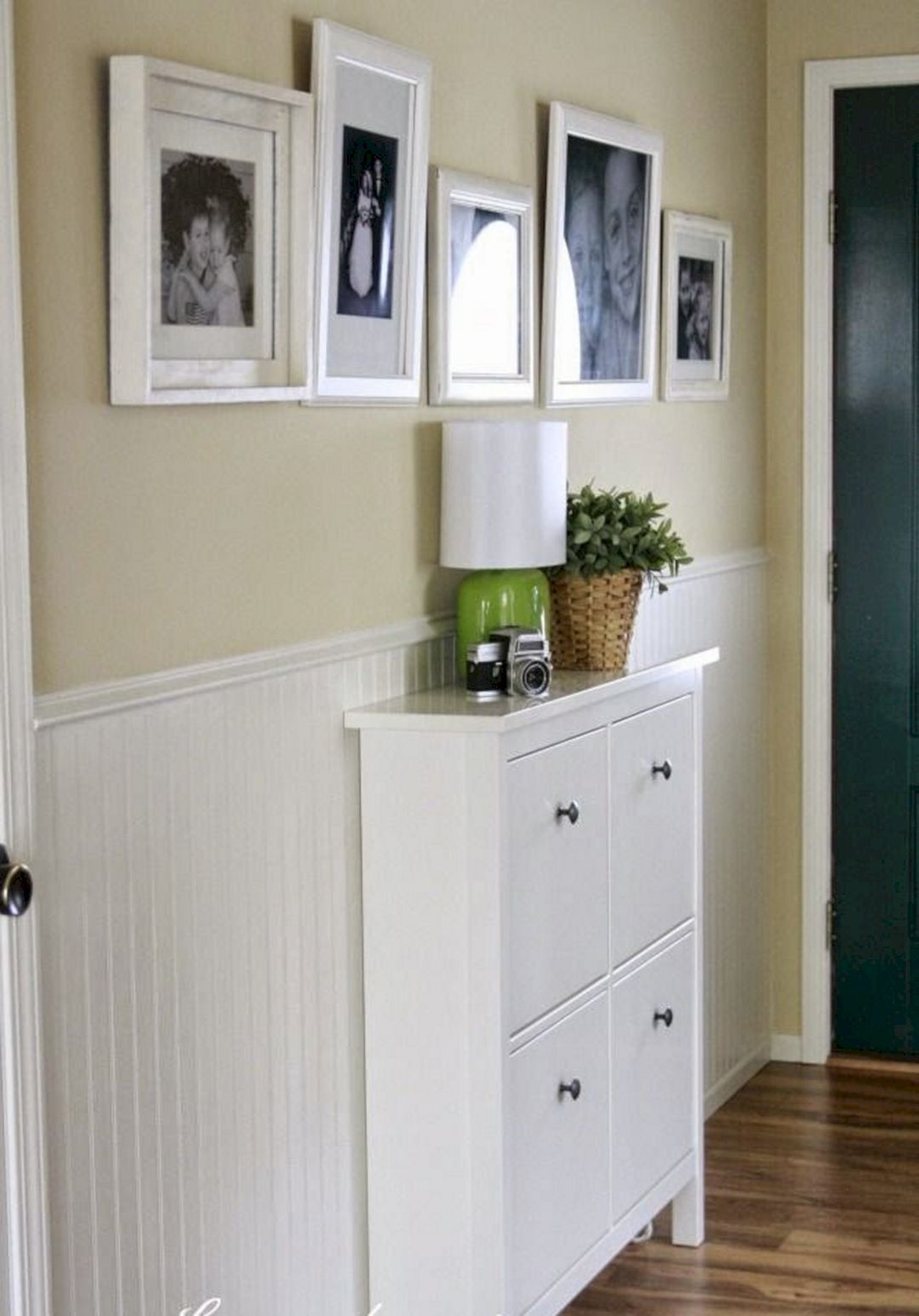 Narrow-entryway-shoe-cabinet-in-ikea-design