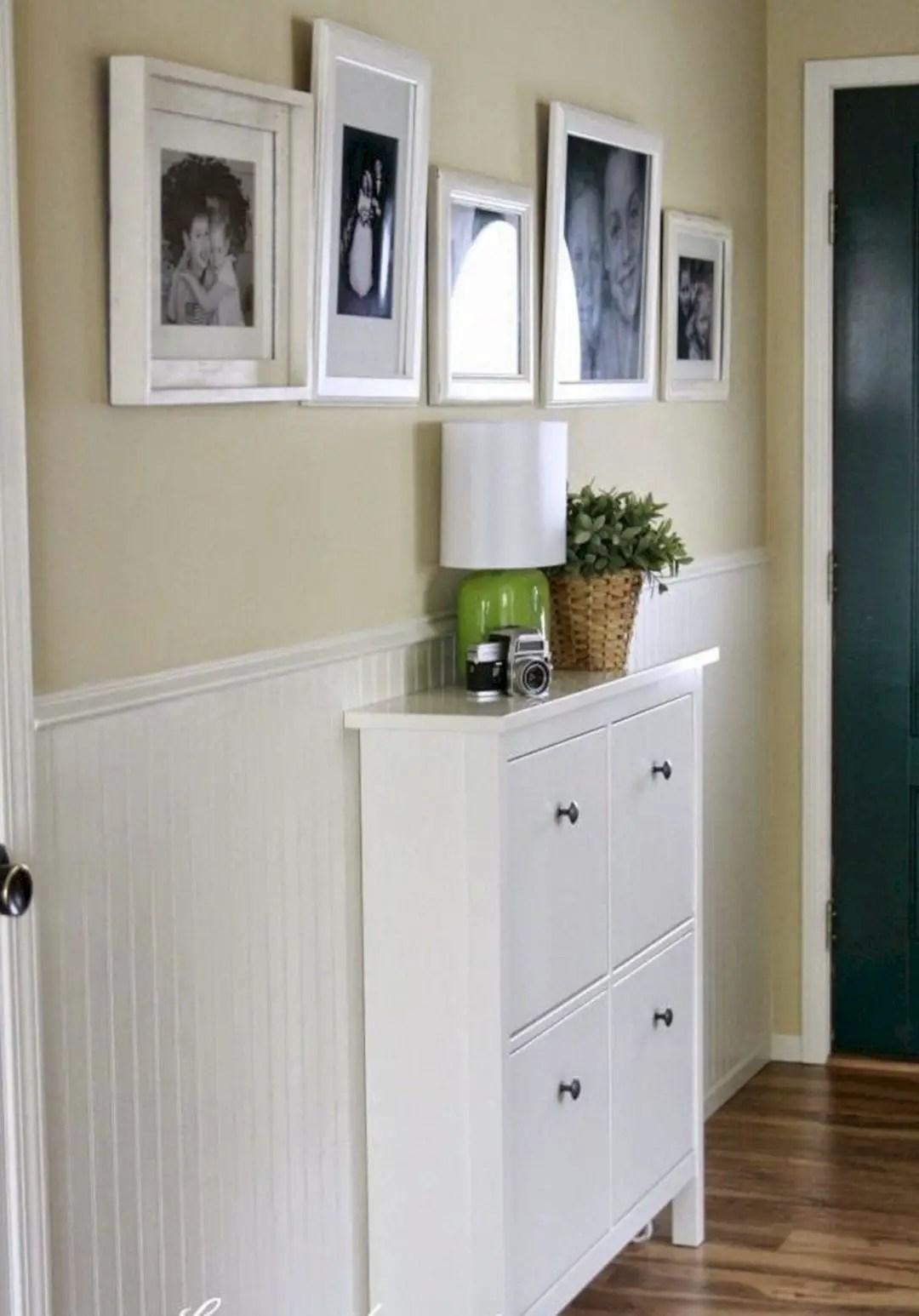 Narrow-entryway-shoe-cabinet-in-ikea-design