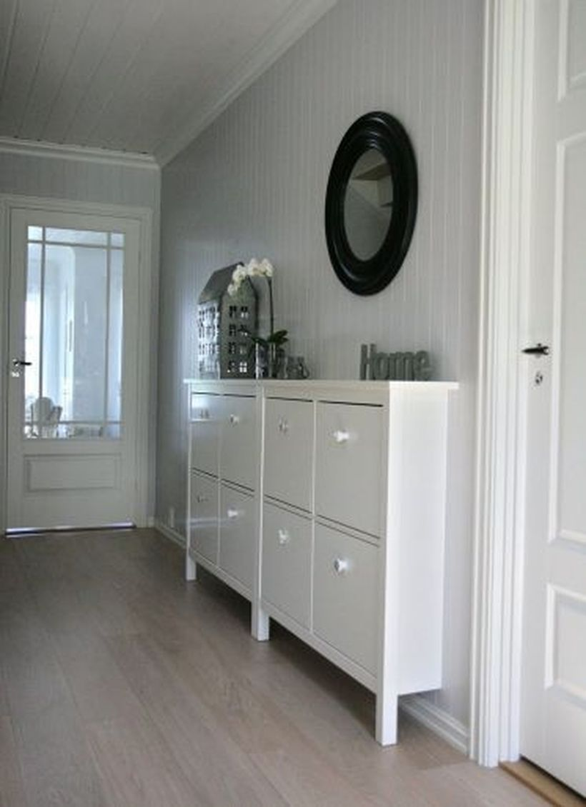 Narrow-hallway-storage-ideas