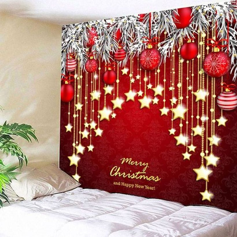 23 Trendy Christmas Wallpaper to Bring Extra Charm into Your Home