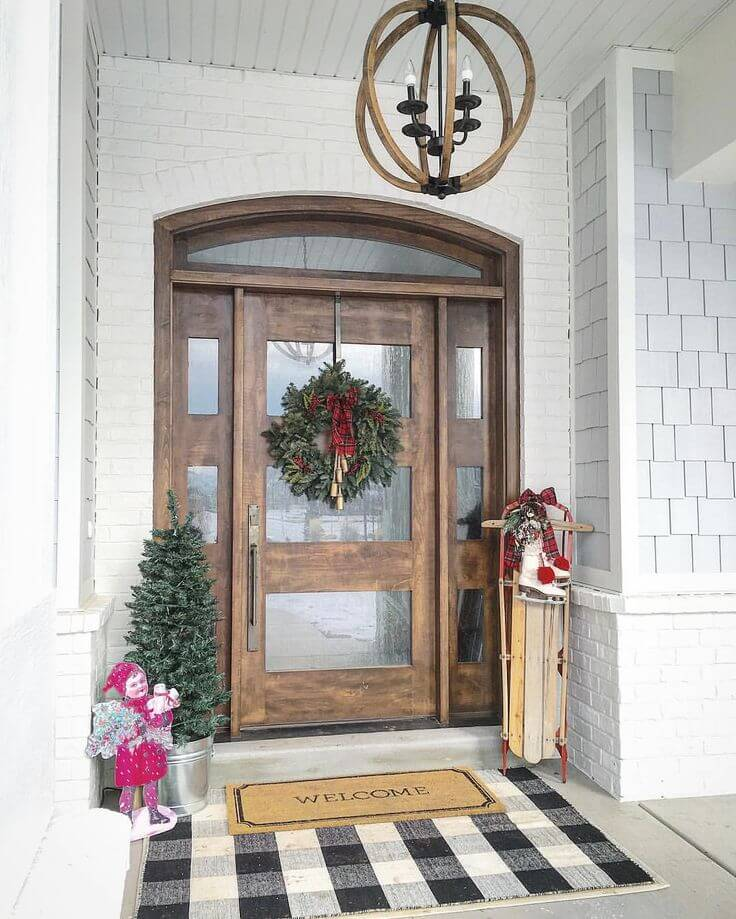 15 Country Winter Outdoor Decorations