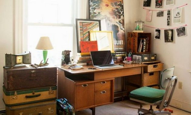 Vintage home office design ideas