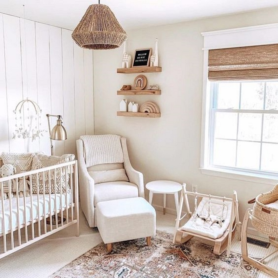 4 The Update Farmhouse Nursery Ideas That Everyone Will Feel Comfy Of